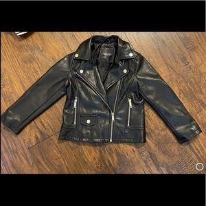 Girl's Moto leather jacket